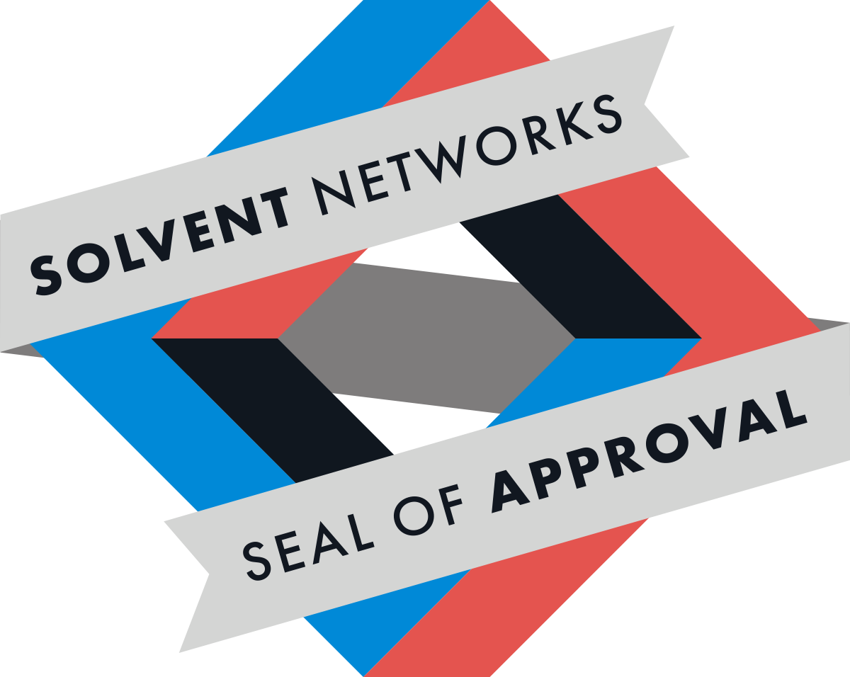 Solvent Networks Seal of Approval